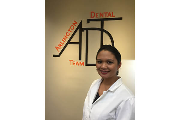 khristine league rdh arlington dental team